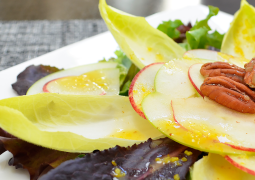 Apple and Endive Salad With Orange Dressing
