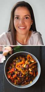 Dr. Rosane Oliveira and Slow Cooker Seven Veggie Chili